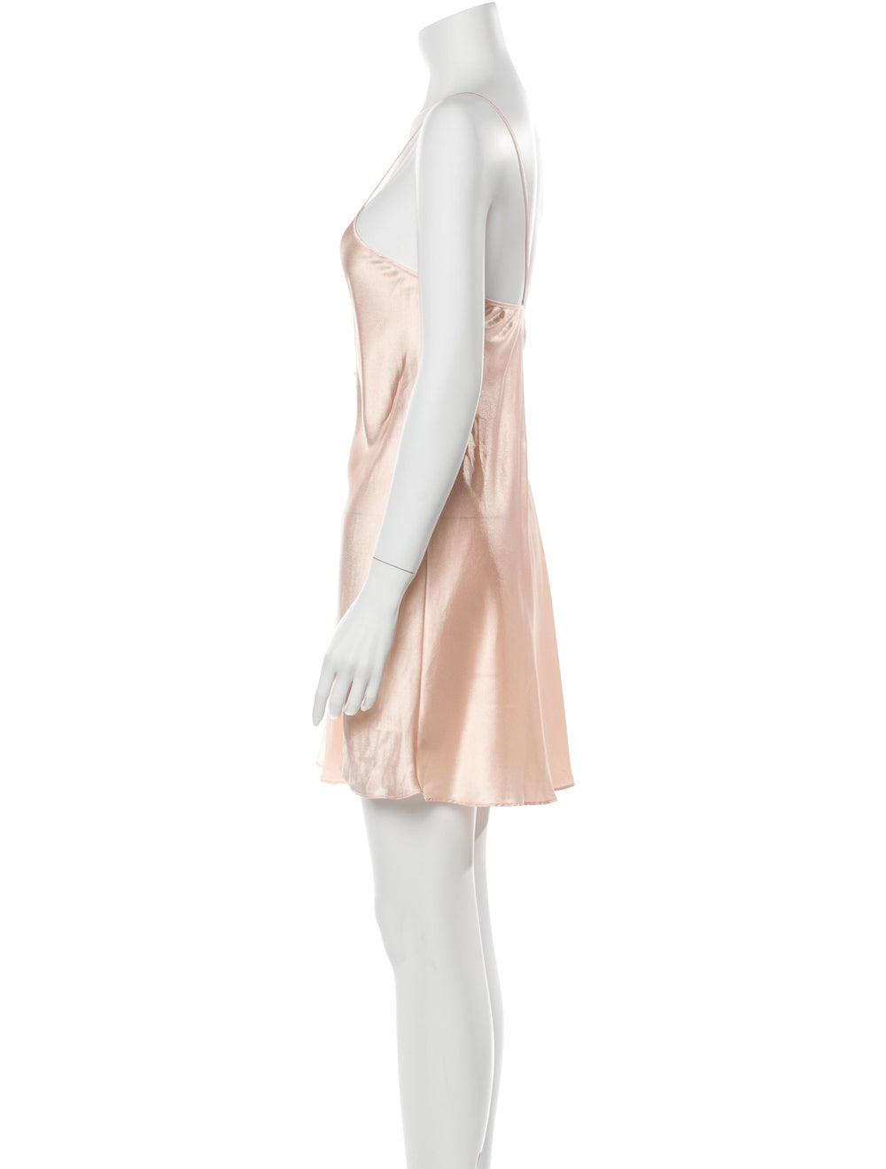 Valentino Vintage Satin Nightgown Pink - image 2