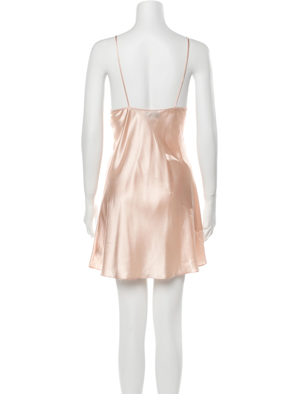 Valentino Vintage Satin Nightgown Pink - image 3