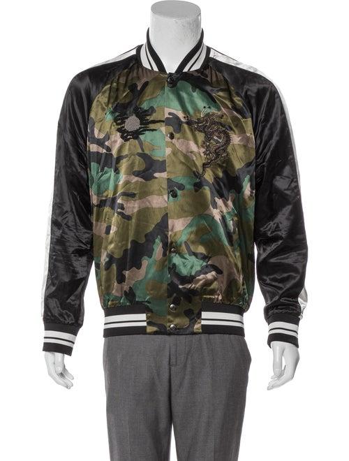 Valentino Camouflage Souvenir Jacket olive