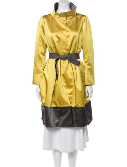 Valentino Trench Coat Yellow