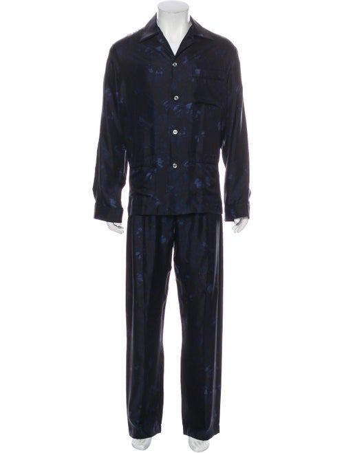 Valentino Silk Pajama Set black