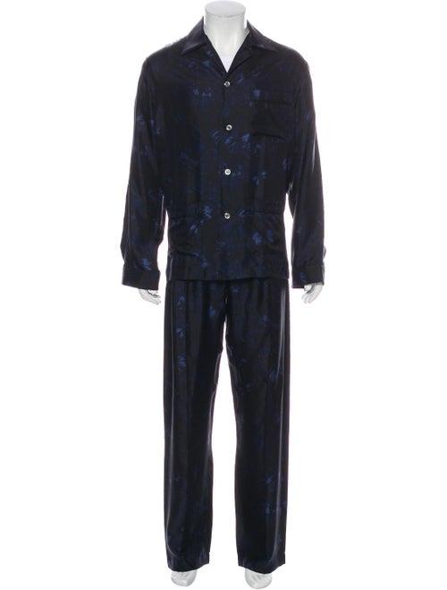 Valentino Silk Pajama Set black - image 1