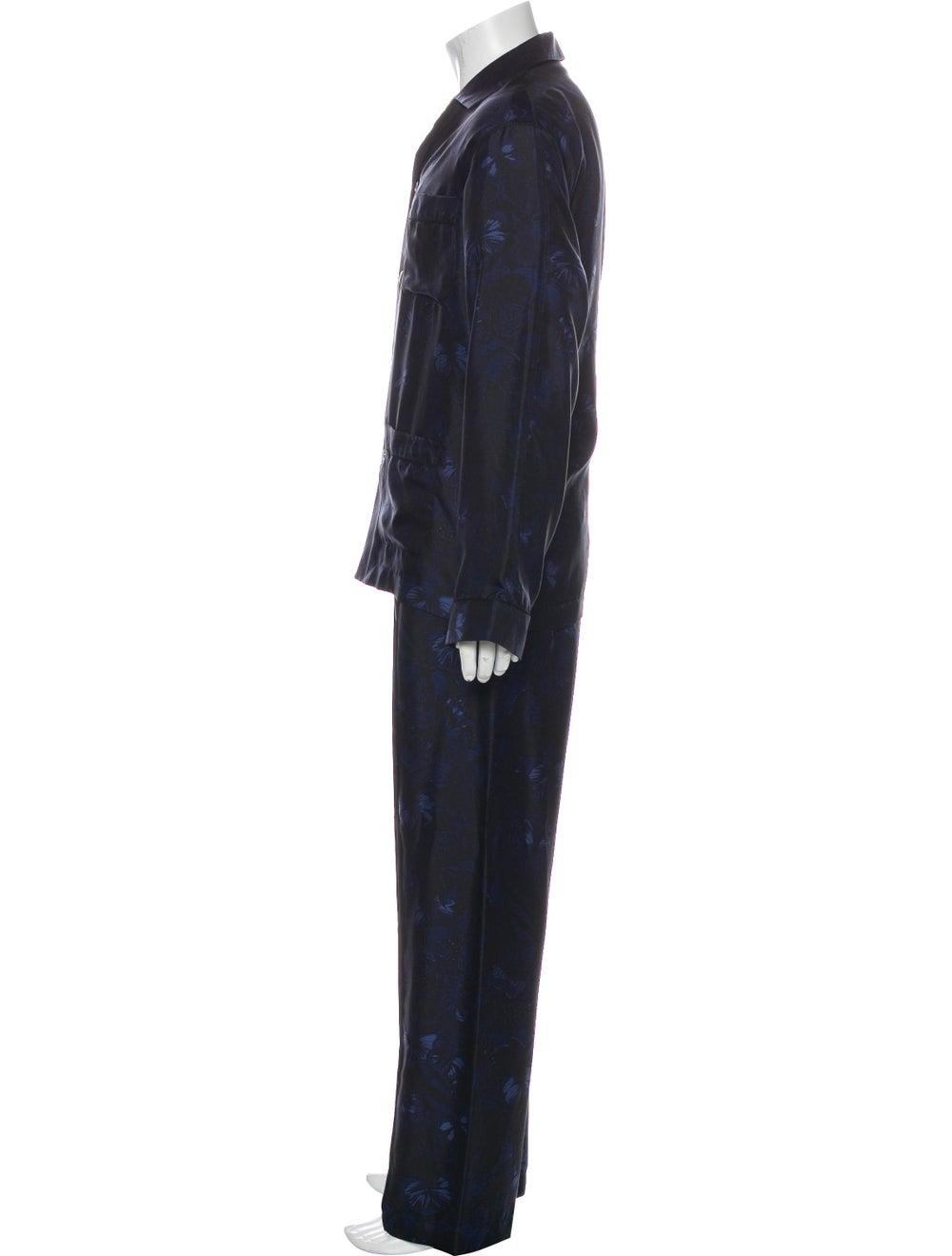 Valentino Silk Pajama Set black - image 2