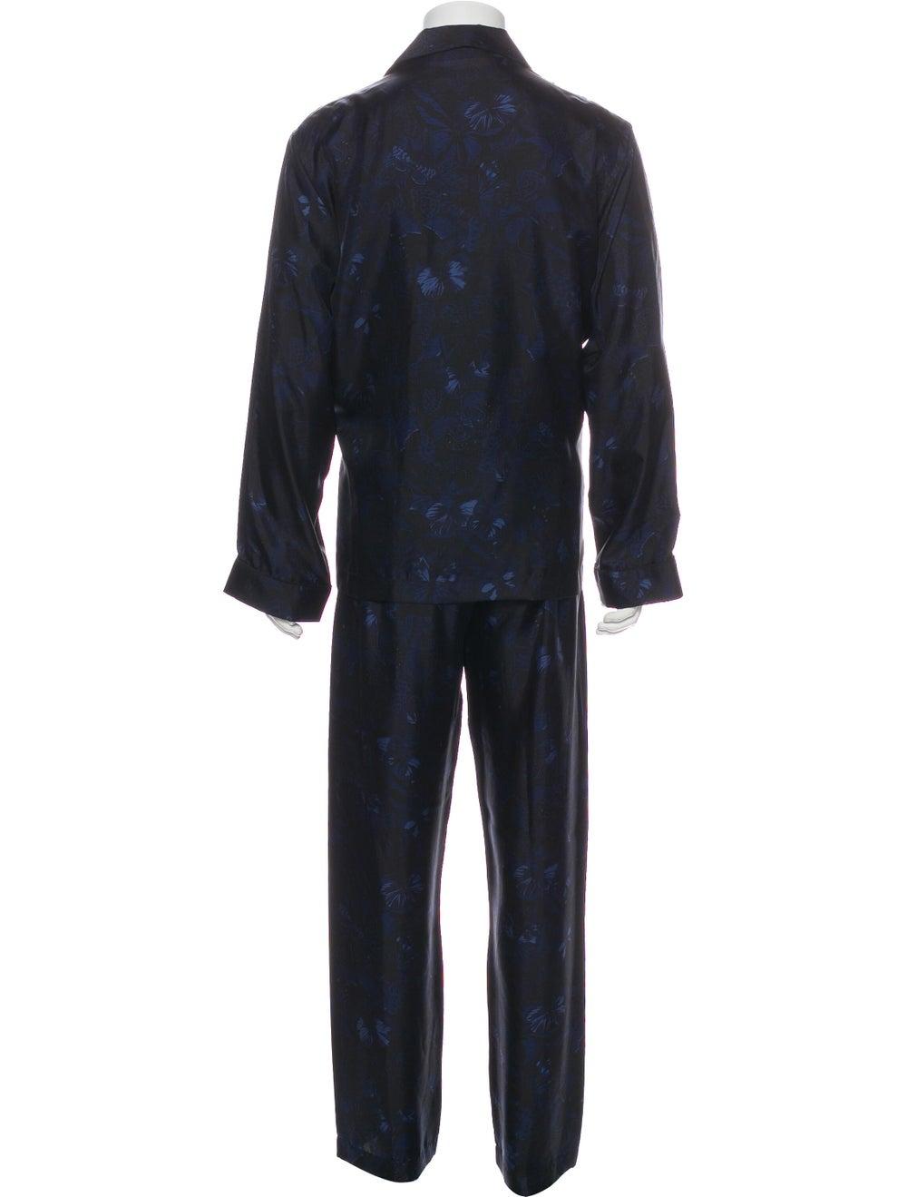 Valentino Silk Pajama Set black - image 3