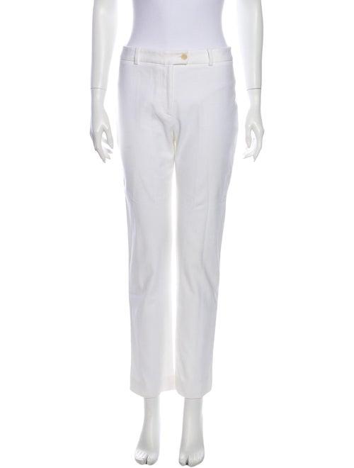 Valentino Straight Leg Pants White