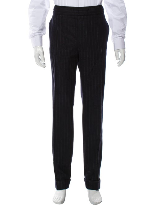 Valentino Virgin Wool Lounge Pants navy