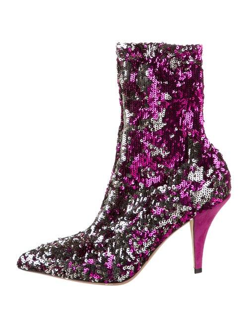 Valentino Boots Purple