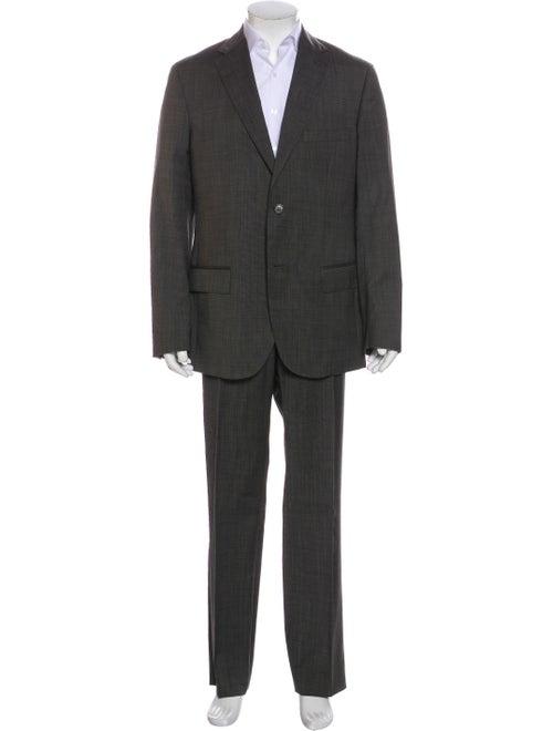 Valentino Fleece Wool Two-Piece Suit Wool