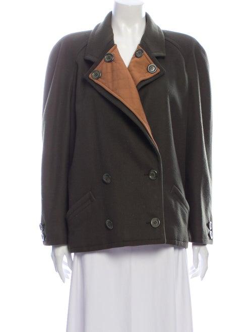 Valentino Vintage Coat Green