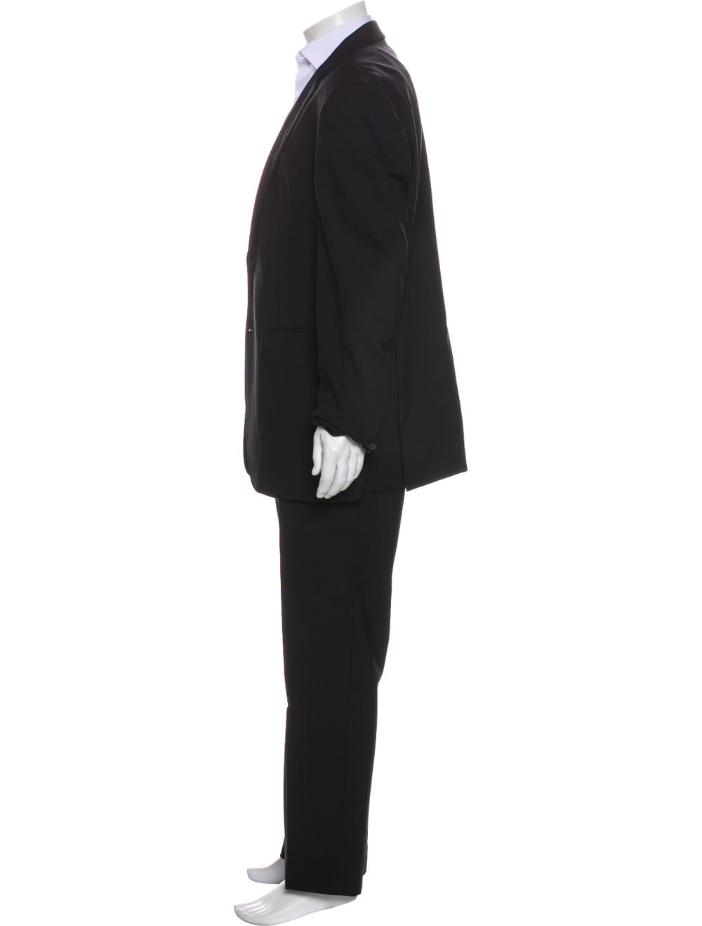 Valentino Fleece Wool Two-Piece Suit Wool - image 2
