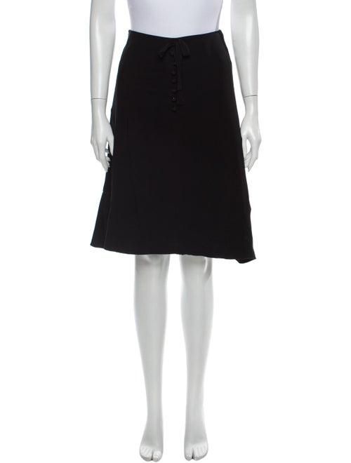 Valentino Knee-Length Skirt Black