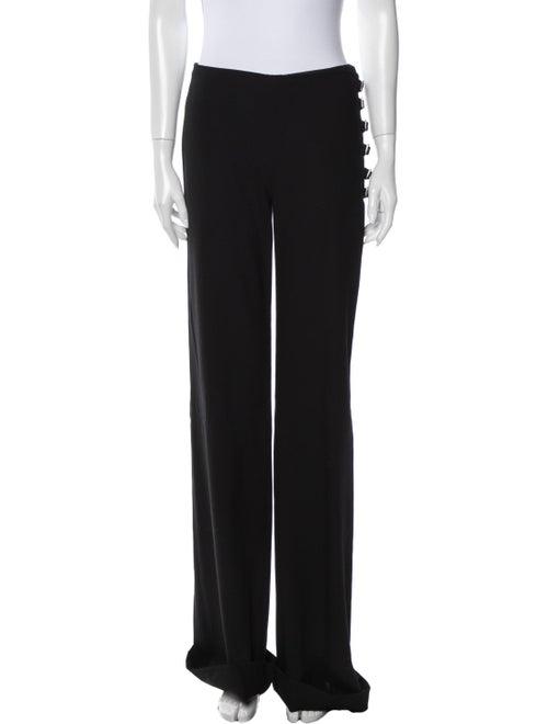 Valentino Wide Leg Pants Black