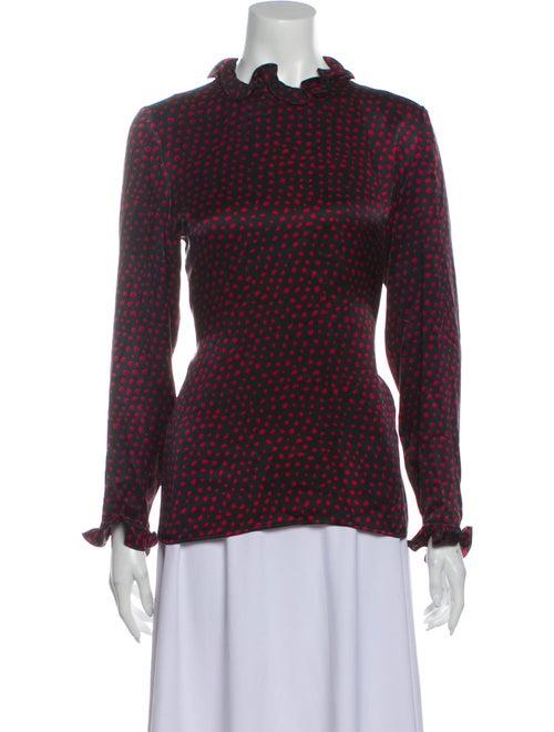 Valentino Silk Printed Blouse