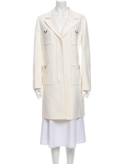Valentino Virgin Wool Coat Wool