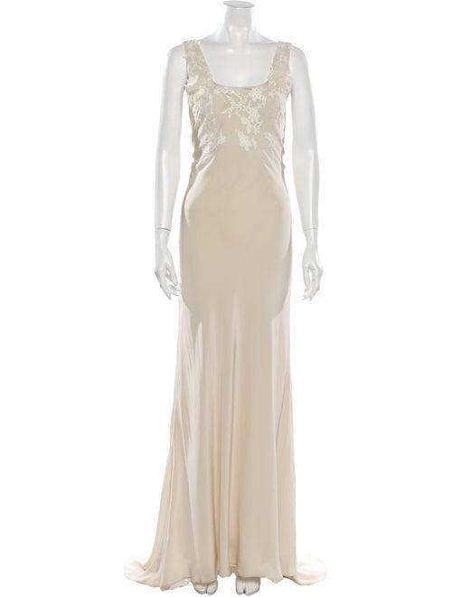 Valentino Silk Long Dress