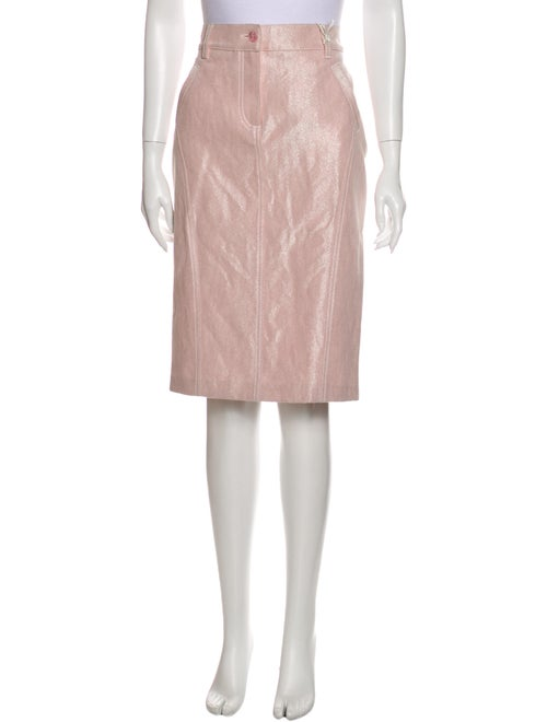 Valentino Knee-Length Skirt w/ Tags Pink