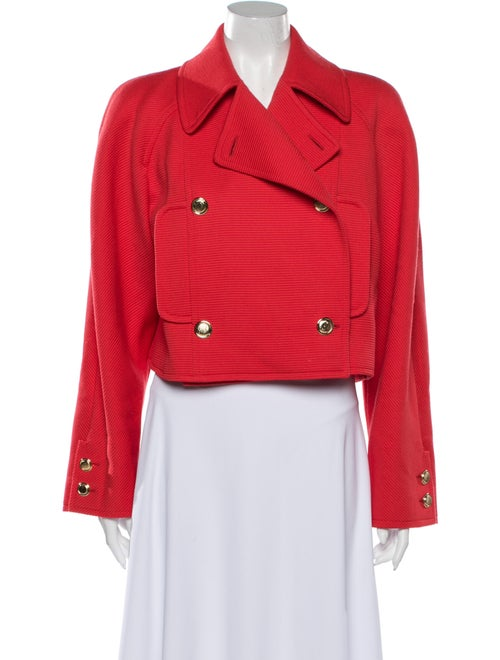 Valentino Biker Jacket Red