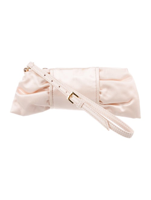 Valentino Satin Clutch w/ Tags Pink