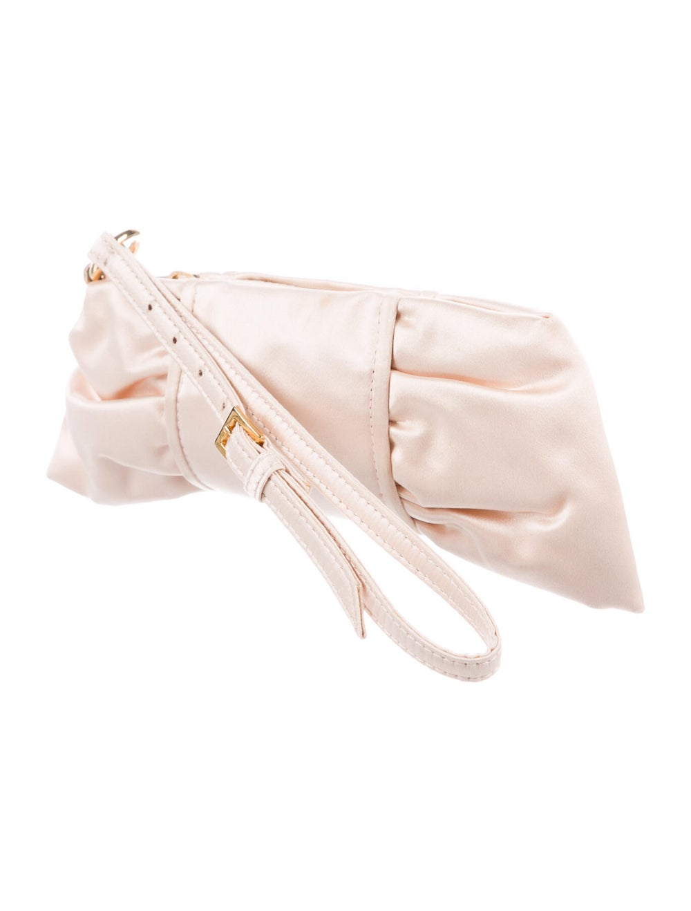 Valentino Satin Clutch w/ Tags Pink - image 3