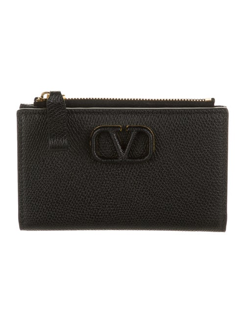 Valentino Leather Wallet Black