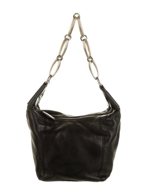 Valentino Mini Leather Hobo Black