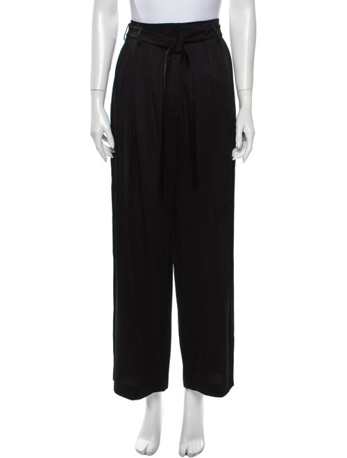 Valentino Wide Leg Pants Black