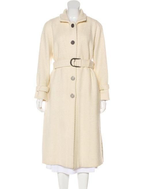 Valentino Long Wool Coat wool