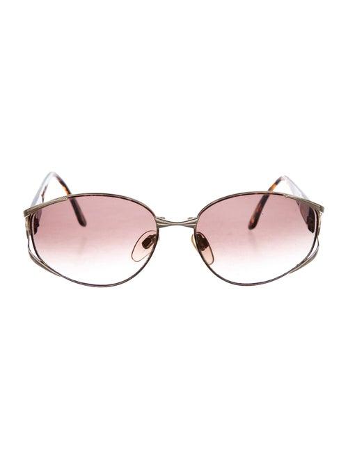Valentino Vintage Gradient Sunglasses Gold