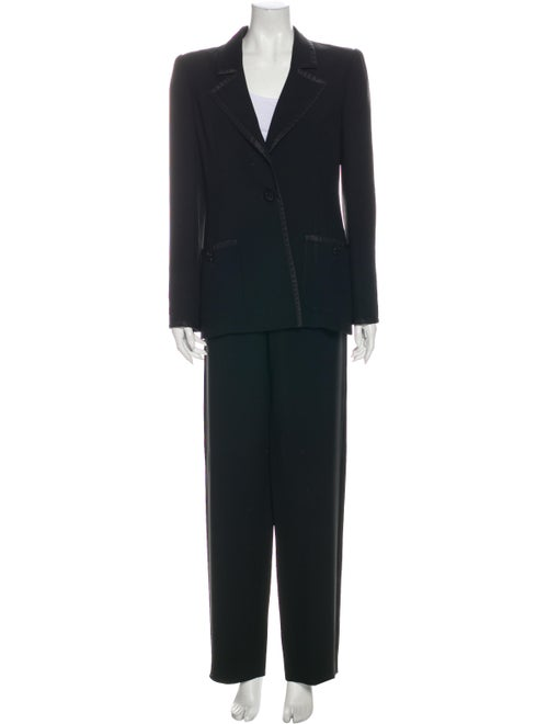 Valentino Vintage Pantsuit Black