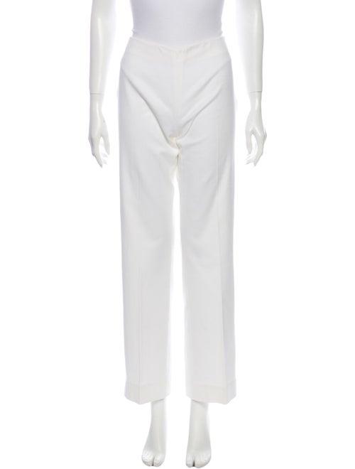 Valentino Wide Leg Pants White