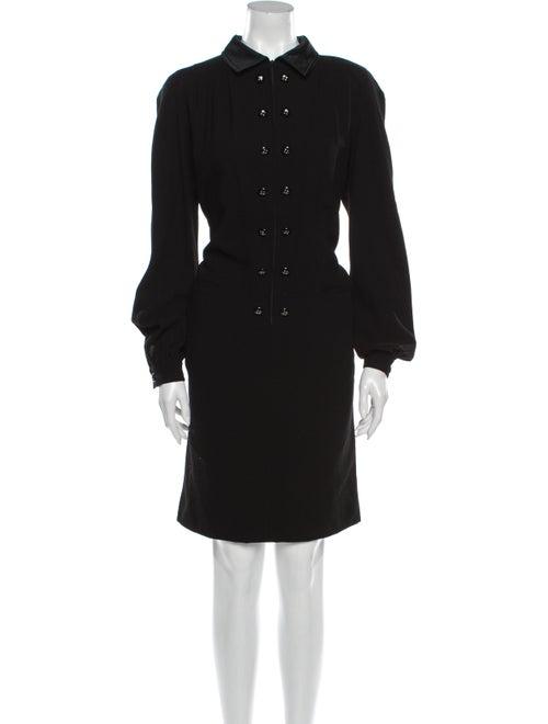 Valentino Vintage Knee-Length Dress Wool
