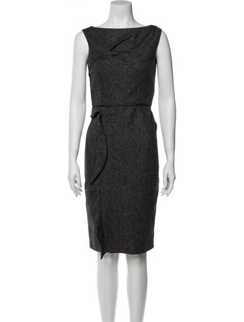 Valentino Wool Knee-Length Dress Wool