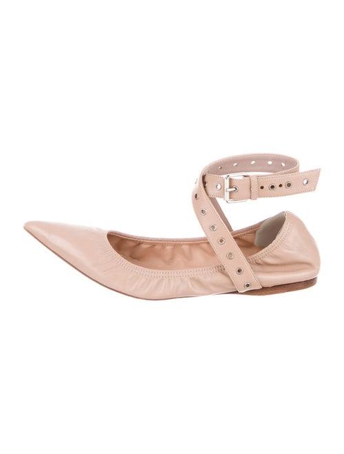 Valentino Leather Ballet Flats