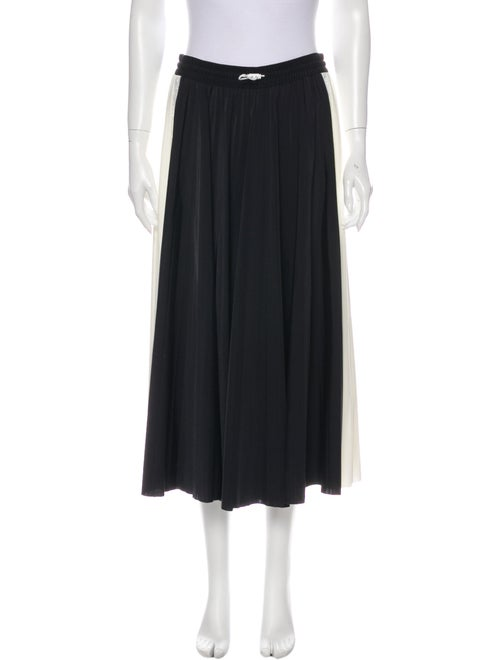 Valentino Midi Length Skirt Black