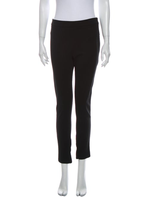 Valentino Straight Leg Pants Black