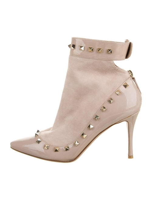 Valentino Suede Boots Pink