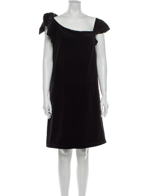 Valentino Vintage Mini Dress Black