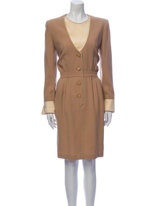 Valentino Vintage Knee-Length Dress