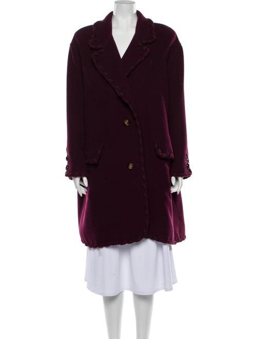 Valentino Vintage Coat Purple