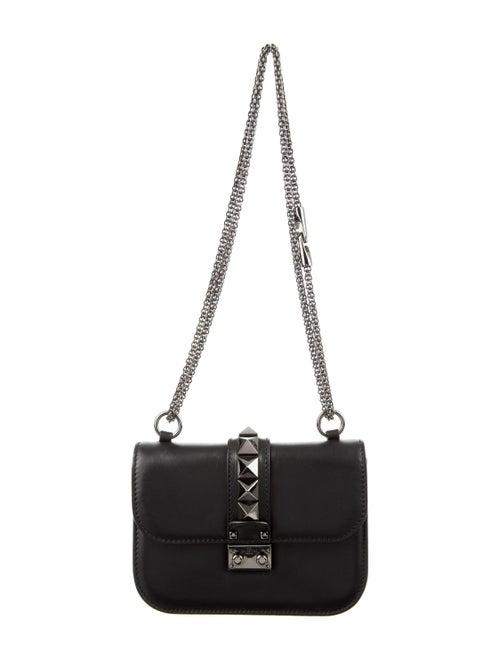 Valentino Small Glam Rock Crossbody Bag Black