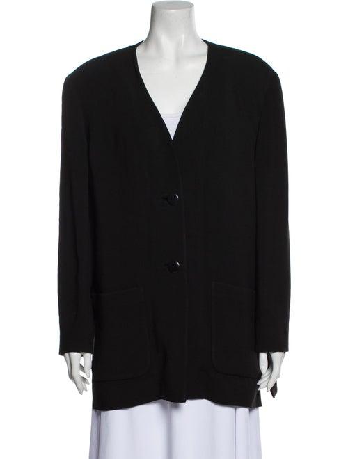 Valentino Vintage Coat Black