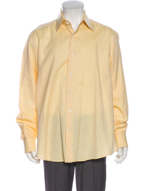 Valentino Long Sleeve Shirt Yellow