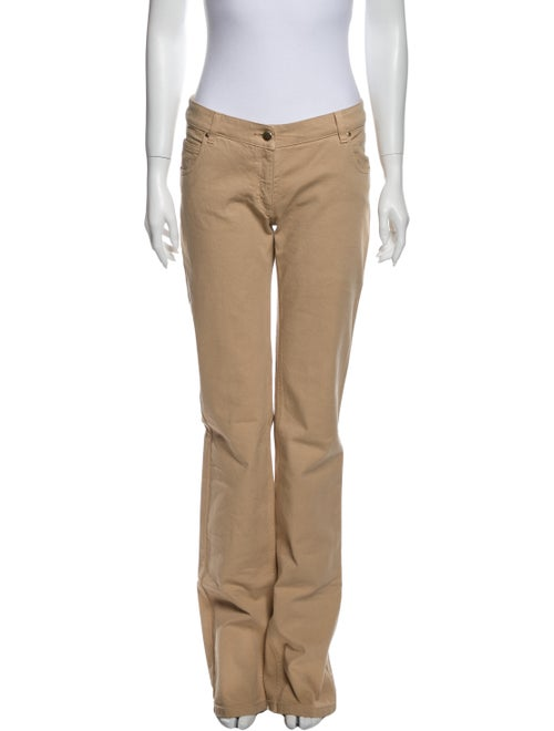 Valentino Mid-Rise Straight Leg Jeans