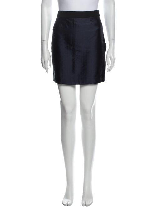 Valentino Mini Skirt Blue