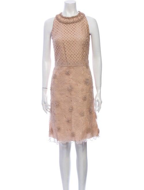 Valentino Silk Knee-Length Dress