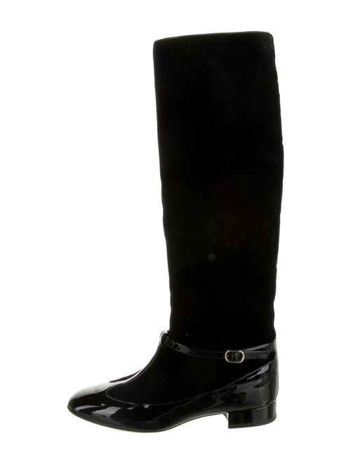 Valentino Riding Boots Black