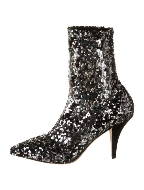 Valentino Sock Boots Metallic