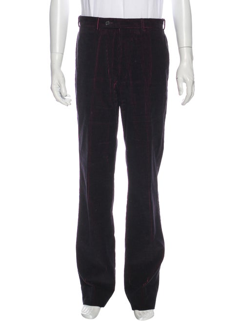 Valentino Corduroy Pants Purple