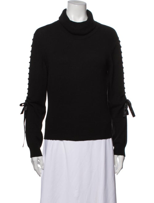 Valentino Vintage Turtleneck Sweater Black