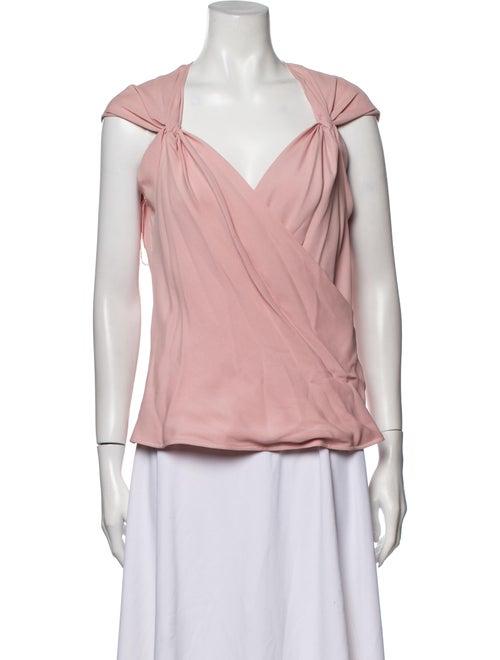 Valentino Vintage Silk Blouse Pink